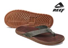 Bild zu Reef Contoured Voyage Herren Leder-Slipper für 45,90€ (Vergleich: ab 59,01€)