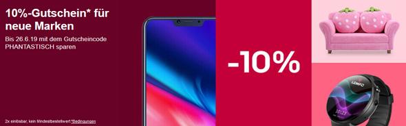 Bild zu eBay: 10% Gutschein für neue Marken, so z.B. Xiaomi