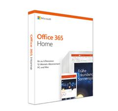 Bild zu Microsoft Office 365 Home (bis zu 6 Personen) für 49,99€