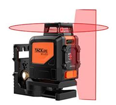 Bild zu Tacklife SC L03 Klassischer Kreuzlinien-Laser mit Messbereich 30M und Neigungsfunktion für 49,99€