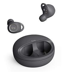 Bild zu AUKEY kabellose In-Ear-Kopfhörer (7 Std. Wiedergabezeit,  Touchbedienung, kabelloses Laden mit Qi, IPX5, Key Series T10) für 82,49€