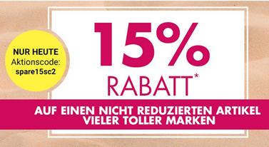 Bild zu Galeria Kaufhof: 15% Rabatt auf einen nicht reduzierten Artikel vieler toller Marken