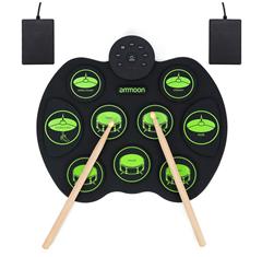 Bild zu E-Drum Elektronisches Schlagzeug Kit mit 9 Pads für 29,49€