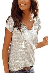 Bild zu 40% Rabatt auf Minetom Damen T-Shirts in verschiedenen Designs