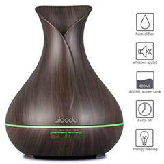 Bild zu Aidodo Omasi Aroma Diffuser (400ml, LED, 7 Farben) für 16,19€