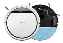 Bild zu MEDION Saugroboter mit Wischfunktion MD 18501 für 139€ (Vergleich: 169,99€)