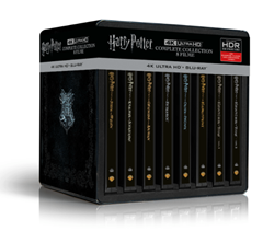 Bild zu Harry Potter 4K Steelbook Complete Collection (16-Discs) – (4K Ultra HD Blu-ray + Blu-ray) für 119€ (Vergleich: 141,98€)