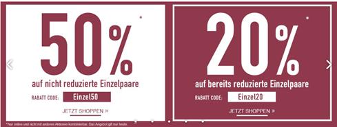 Bild zu Roland-Schuhe: 50% Rabatt auf nicht reduzierte Einzelpaare oder 20% Rabatt auf reduzierte Einzelpaare