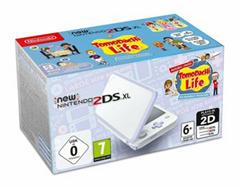 Bild zu New Nintendo 2DS XL Weiß + Lavendel inkl. Tomodachi Life für 111€ (Vergleich: 138,99€)