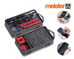 Bild zu 2x Meister Feinmechaniker-Set (Zum Reparieren von Smartphones, Brillen, Uhren usw.) für 22,90€ (Vergleich: 32,80€)