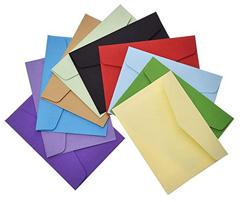 Bild zu Febbya Briefumschläge 100 Stück (bunt, 11x8cm) für 5,99€