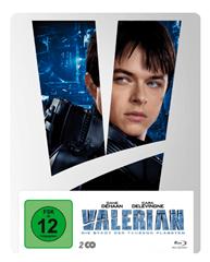 Bild zu Valerian – Die Stadt der tausend Planeten: Exklusives Steelbook – (Blu-ray) für 12€ (Vergleich: 19,88€)