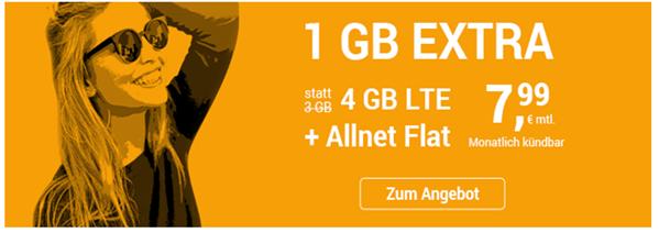 Bild zu [wieder da] winSIM monatlich kündbarer Vertrag im o2-Netz mit 4GB LTE Datenflat, SMS und Sprachflat für 7,99€/Monat + 9,99€ Anschlussgebühr