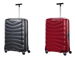Bild zu Samsonite 4-Rollen Trolley Firelite 55cm in Rot oder Schwarz für je 140,15€ (Vergleich: 184,25€)