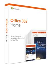 Bild zu Microsoft Office 365 Home (bis zu 6 Personen) für 49,99€ (Vergleich: 62,50€)