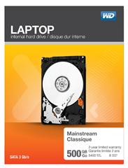 Bild zu WD Laptop Mainstream 500 GB 2.5 Zoll Festplatte für 33€ (Vergleich: 42,99€)