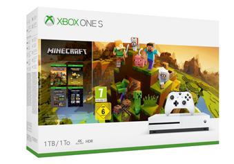 Bild zu MICROSOFT Xbox One S 1TB – Minecraft Creators Bundle für 179,10€ (Vergleich: 249,03€)