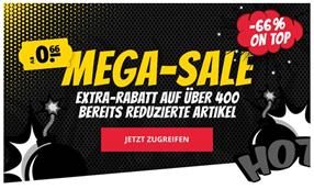 Bild zu SportSpar: Mega Sale mit 66% Extra-Rabatt auf über 400 Artikel