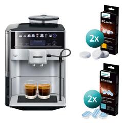 Bild zu Siemens TE653501DE EQ 6 Kaffeevollautomat inkl. Reinigungsset für 549,90€ (Vergleich: 637,80€)