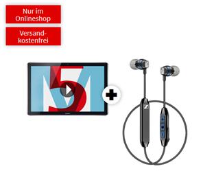 Bild zu HUAWEI MediaPad M5 10,8 LTE & Sennheiser CX6 mit 10 GB LTE Telekom Datenflat für 14,99€/Monat