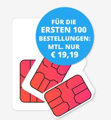 Bild zu [geht noch] 12GB LTE Datenflat mit SMS und Sprachfalt im Telekom-Netz für 22€/Monat