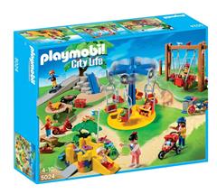 Bild zu PLAYMOBIL – 5024 Großer Spielplatz für 29,99€ (Vergleich: 55,99€)