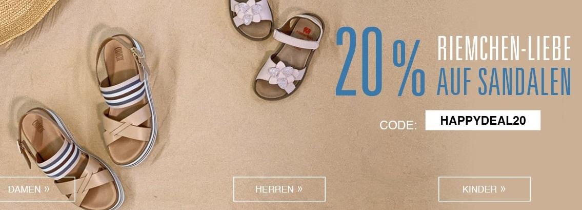 Bild zu Roland-Schuhe: 20% Rabatt auf Damen-, Herren- und Kindersandalen