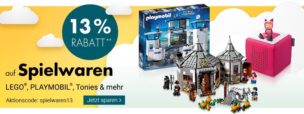 Bild zu Karstadt: 13% Rabatt auf Spielwaren