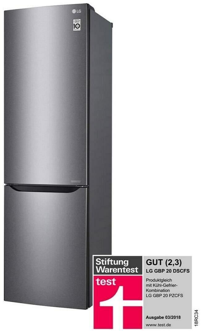 Bild zu Kühl- / Gefrierkombination LG GBP 20 DSCFS für 479€ (Vergleich: 599€)