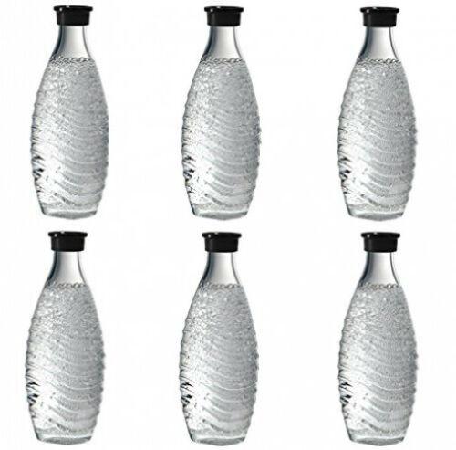 Bild zu 6 x Sodastream Glaskaraffe für 44,99€ (Vergleich: 54,93€)