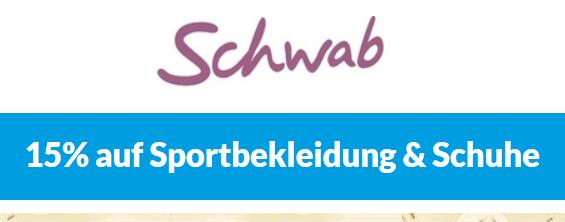 Bild zu Schwab: 15% Rabatt auf Sportbekleidung und Schuhe