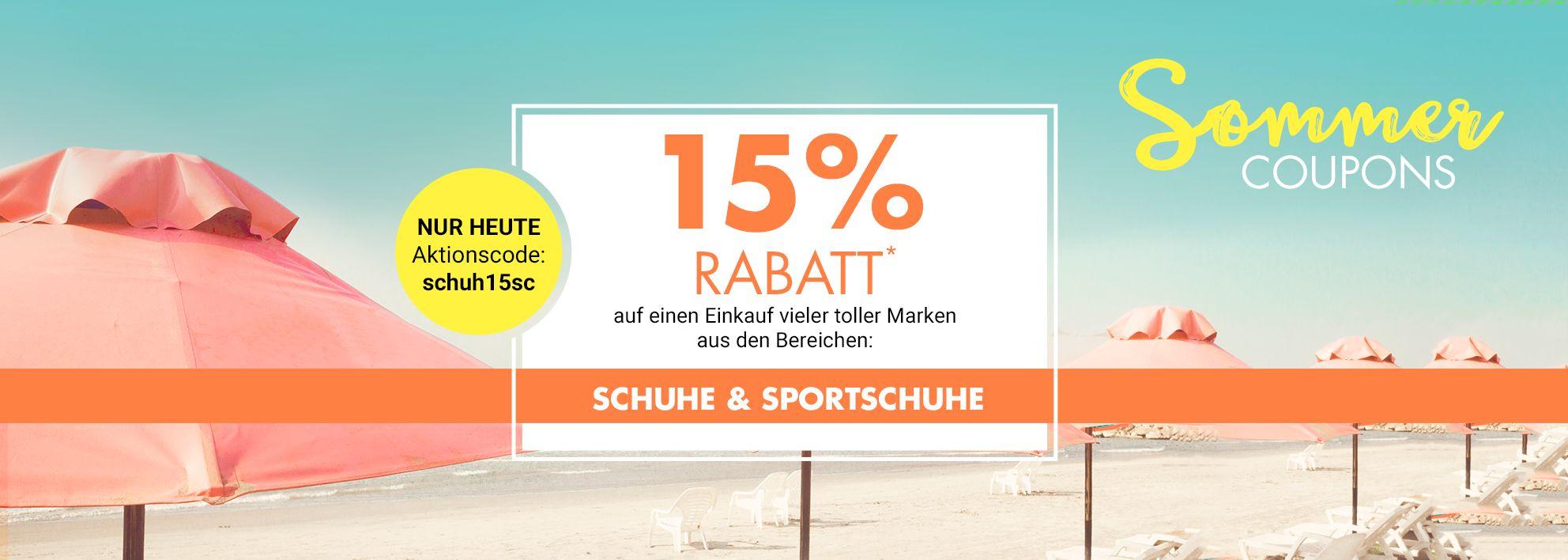 Bild zu Galeria Kaufhof: 15% Rabatt auf Schuhe und Sportschuhe