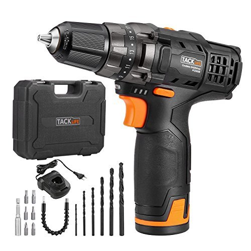 Bild zu Akku-Bohrschrauber Tacklife PCD01B mit LED-Arbeitslicht für 34,99€