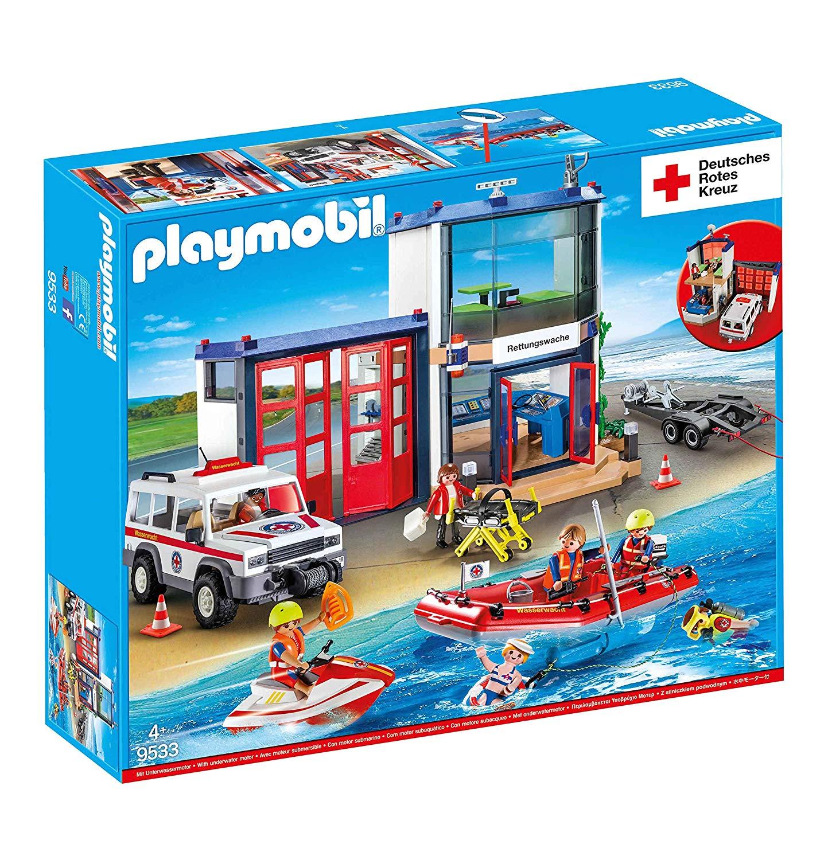 Bild zu Playmobil Deutsches Rotes Kreuz Mega-Set (9533) für 47,44€ (Vergleich: 67,50€)