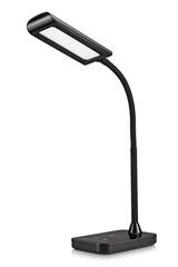 Bild zu TaoTronics 7 Watt LED Schreibtischlampe mit 5 Farbmodi und 7 Helligkeitsstufen für 19,99€