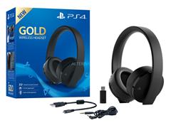 Bild zu Sony Playstation 4 Wireless Stereo Headset (schwarz, GOLD Edition) für 59,90€ (Vergleich: 75€)