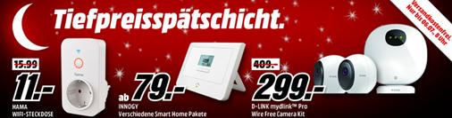 Bild zu MediaMarkt Tiefpreisspätschicht mit Smart Home Angebote