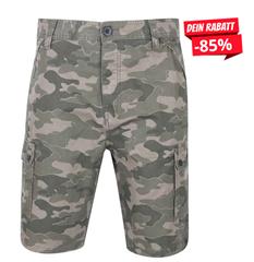 Bild zu SportSpar: DNM Dissident Guayana Herren Cargo Shorts camouflage für 6,66€ zzgl. 3,95€