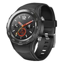 Bild zu HUAWEI Watch 2 Smartwatch (Kunststoff, 140-210 mm, Carbon Schwarz) für 120,99€ (Vergleich: 161€)