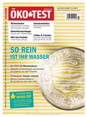 """Bild zu Jahresabo (12 Ausgaben) der Zeitschrift """"Ökotest"""" für 51,84€ + 35€ Verrechnungsscheck als Prämie"""