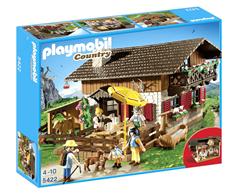 Bild zu Playmobil Country Almhütte (5422) für 29,94€ (Vergleich: 40,90€)