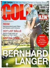 """Bild zu 12 Ausgaben der Zeitschrift """"Golf Magazin"""" für 82,80€ + 75€ Amazon Gutschein für den Werber"""