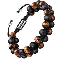 Bild zu 40% Rabatt auf Murtoo Männer Perlenarmbänder mit einstellbarem Verschluss