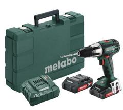 Bild zu Metabo Akku-Bohrschrauber SB 18 LT Compact im Koffer inkl. 2 Akkus 2,0Ah und Ladegerät für 114,90€ (Vergleich: 179,55€)