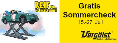 Bild zu Vergölst Servicewochen – GRATIS Meister-Check vom 15.07. bis 27.07.
