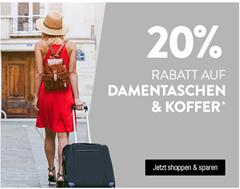Bild zu Galeria Kaufhof: 20% Rabatt auf Dametaschen & Koffer