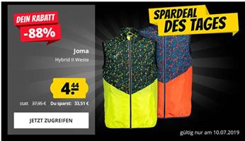 Bild zu SportSpar: Joma Hybrid II Herren Weste für je 4,44€ zzgl. 3,95€ Versand