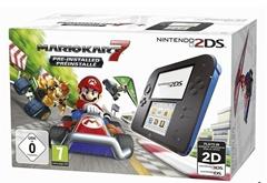 Bild zu Nintendo 2DS schwarz/blau + Mario Kart 7 für 69€ – mit MasterPass (Vergleich: 94,75€)