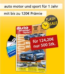 """Bild zu [Super – nur 500x] Deutsche Post Leserservice: Jahresabo """"auto motor und sport"""" für 119,20€ + bis zu 120€ Prämie"""