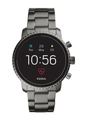 Bild zu Fossil Q Explorist HR Smartwatch FTW4012 Edelstahl grau für 195,30€ (Vergleich: 239€)
